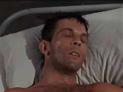 Westerns Leonard Nimoy 60s Shirtless Bust Sleeping