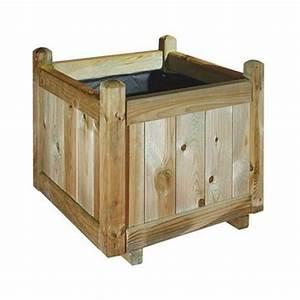 Jardinière Haute Pas Cher : jardiniere en bois topiwall ~ Premium-room.com Idées de Décoration