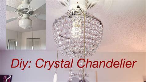 diy glass chandelier diy real chandelier