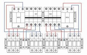 Shlx-pv6  2 Dc Combiner Box