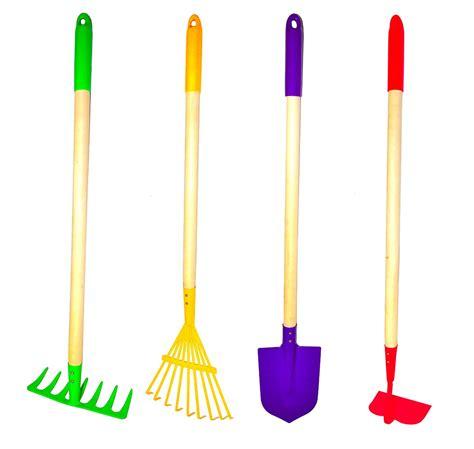 tools for gardening g f 10018 justforkids garden tools set rake spade