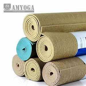 aliexpresscom acheter organique de jute tapis de yoga With acheter un tapis de yoga