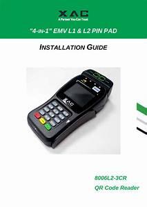 Xac Automation 8006l23cr Pinpad User Manual
