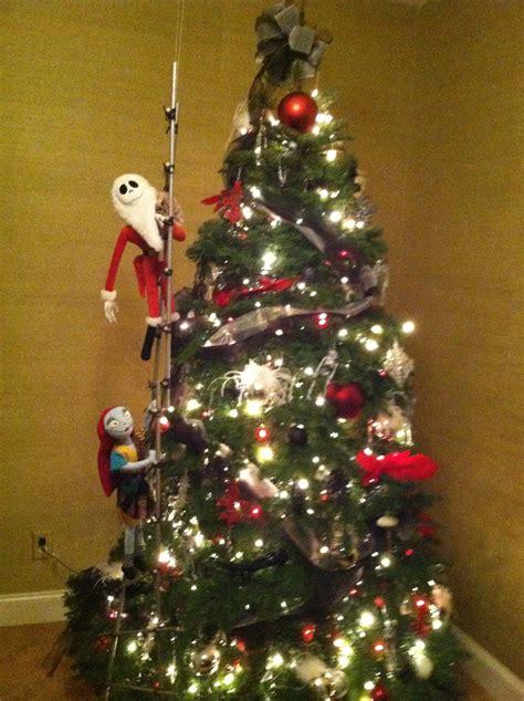 nightmare before christmas tree holidays pinterest