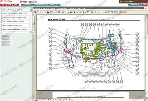 toyota yaris wiring diagram pdf catalogue of schemas