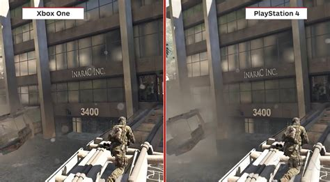 Kaos One Graphic 5 ps4 vs xbox one see how resolution affects draw distance