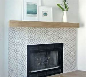 27 stunning fireplace tile ideas for your home simply home for Stylish options for fireplace tile ideas