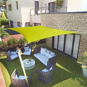 Voile Pour Terrasse : voile d 39 ombrage rectangulaire pour prot ger balcon ~ Premium-room.com Idées de Décoration