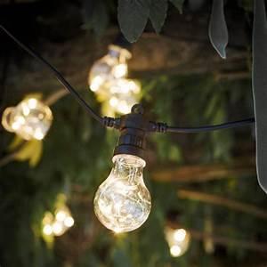 Guirlande Lumineuse Ampoule : guirlande lumineuse ext rieure ampoules guinguette festoon decoclico ~ Teatrodelosmanantiales.com Idées de Décoration