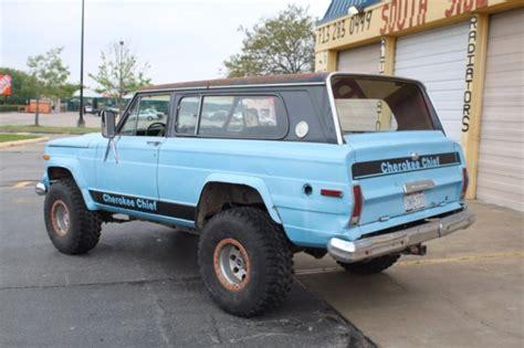 jeep cherokee chief  sale jeep cherokee