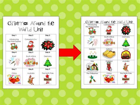 first grade garden christmas around the world make over