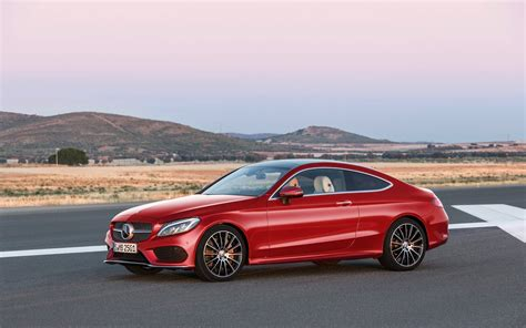 2018 Mercedes Benz C Class Coupe Hyacinth Red Static