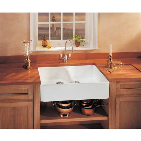 Franke Fireclay Apron Front Undermount Or Dropon Double