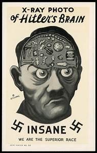 Anti-nazi propaganda poster (1942) | Vintage Illustration ...