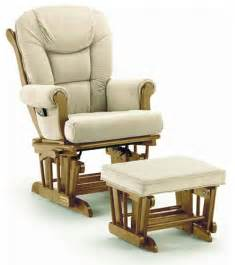 shermag 37779cb glider rocker ottoman pecan traditional gliders by kid s stuff superstore