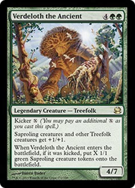 magic the gathering treefolk deck starcitygames random commander verdeloth the ancient