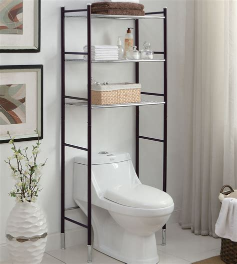 metal over toilet cabinet bathroom toilet etagere space saver bathroom shelves