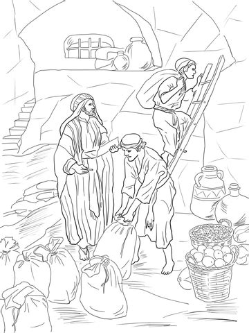 prophet malachi storing gifts   temple coloring page supercoloringcom