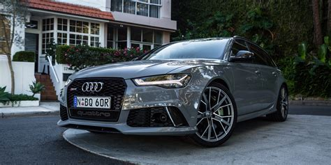 2018 Audi Rs6 Avant Performance Review Caradvice