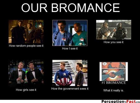 Bromance Memes - our bromance what people think i do what i really do perception vs fact