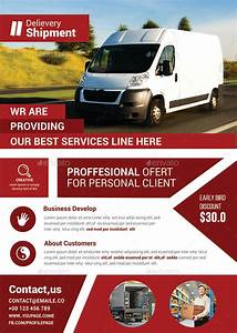 Delivery & Shipment Flyer by afjamaal GraphicRiver