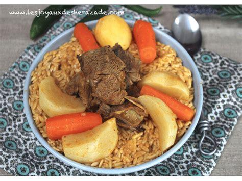 la cuisine de az cuisine tunisienne chorba vapeur les joyaux de sherazade