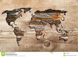 Carte Du Monde En Bois : carte en bois du monde image stock image du conceptuel 67138481 ~ Teatrodelosmanantiales.com Idées de Décoration