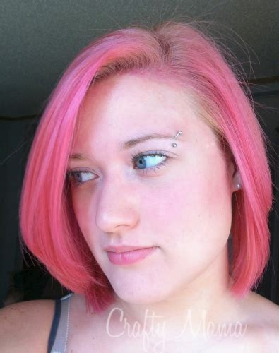 food coloring hair dye dye your hair with food coloring crafty