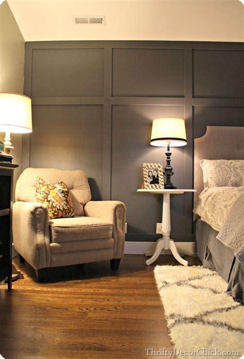 dark gray accent wall bedroom wallpaper accent wall