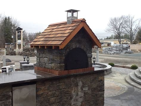 Gagne And Sons Hardscape Block Outdoor Pizza Oven In Maine