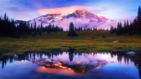 Download Mountain Scene Wallpaper Gallery