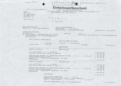 Berechnung Einheitswert Einfamilienhaus by Berechnung Einheitswert Einfamilienhaus Beispiel Anhang