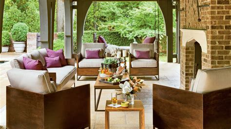 Back Porch Designs For Houses by Refined Rustic Back Porch Southern Living