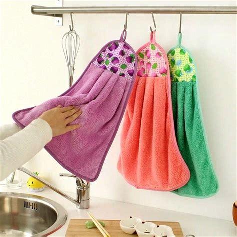 kitchen towel designs new creative towels coral velvet thickening 3378
