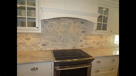 marble subway tile kitchen backsplash  feature time