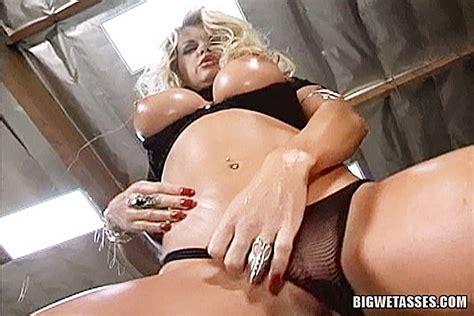 Slutty Blonde Pornstar Vicky Vette Fucks Anally For A