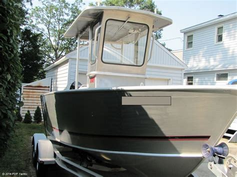 Used Pacific Aluminum Boats For Sale by 2003 Used Pacific Skiff 2025v Aluminum Fishing Boat For
