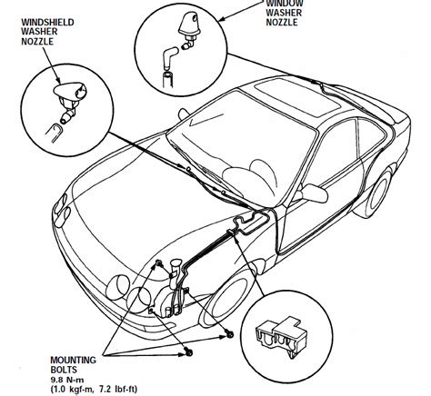 2002 Subaru Forester Drivetrain Diagram