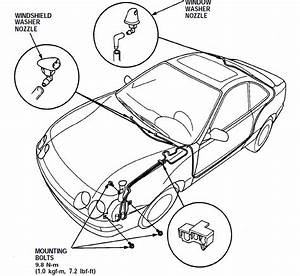 Windshield Washer Hose Diagram  Anyone Plz - Team Integra Forums
