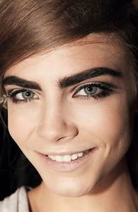 Beauty spot: Thick eyebrows!