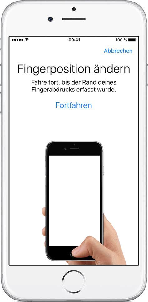 iphone touch id touch id auf dem iphone und verwenden apple support