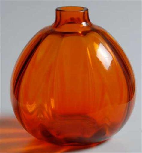 Orange Vases Accessories by Royal Leerdam Netherland Orange Vases At Replacements Ltd