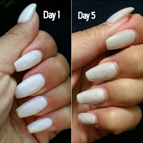color my nails horrible i got acrylic gel nail in quot bunny quot and
