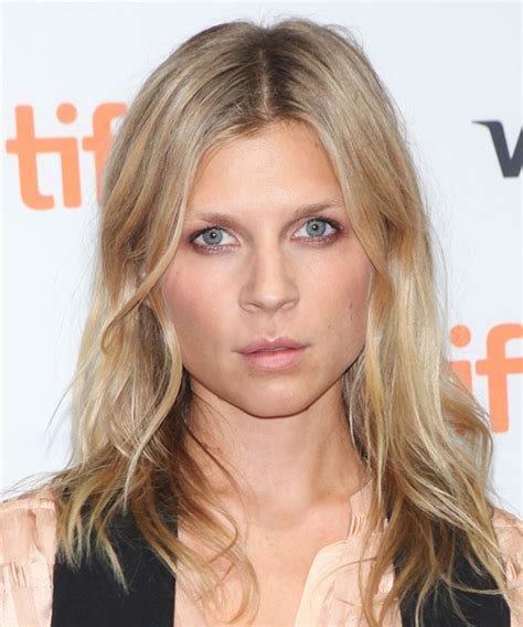 Clemence Poesy Long Straight Casual Hairstyle   Medium