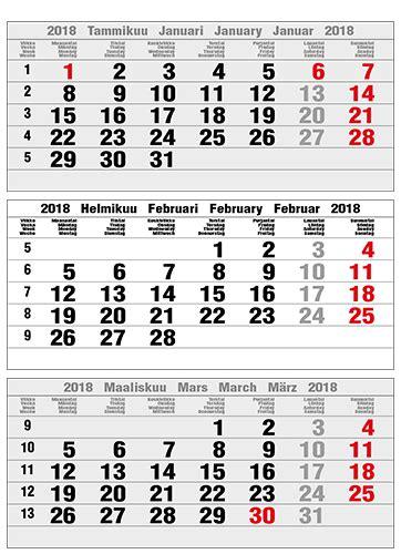 kalenteri  calendars
