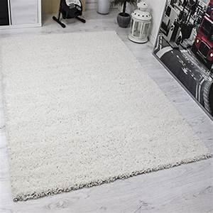 Langflor Teppich Weiß : vimoda prime shaggy teppich weiss creme hochflor langflor teppiche modern f r wohnzimmer ~ Frokenaadalensverden.com Haus und Dekorationen