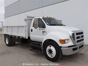 2004 Ford F650 S  A 7 Yard Dump Truck Cat 7 2l Diesel