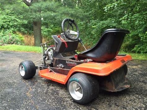Slicks Garage Lawn Mower Engine by Racing Mower Outlaw Modified Funnydog Tv