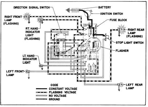 1949 Ford Turn Signal Wiring Diagram by 1955 Buick Electrical Systems Maintenance