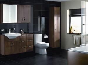 deco salle de bain sol noir With salle de bain sol noir